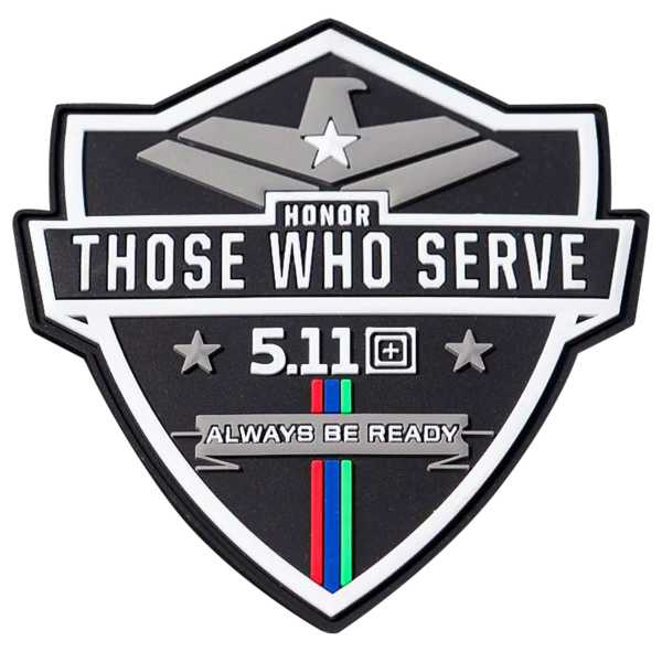 """5.11 """"Honor Those Who Serve"""" Patch"""