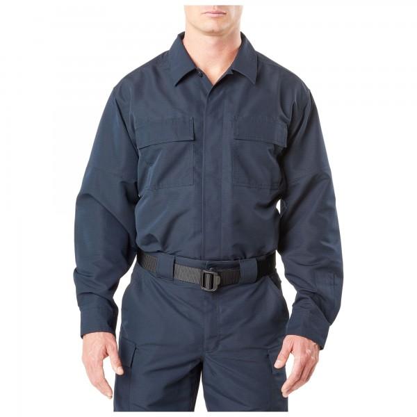 TDU Langarmshirt Fast-Tac navy von 5.11