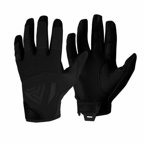 Direct Action Hard Leather Gloves black