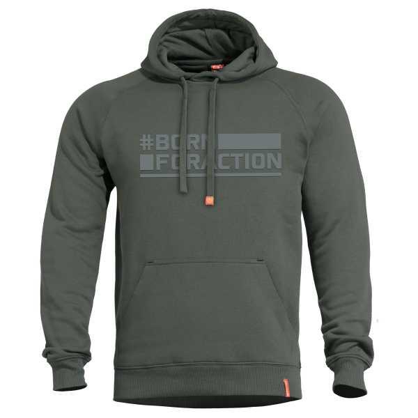 Pentagon Phaeton Hood Sweater camo grün