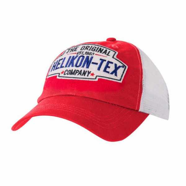 Helikon-tex Trucker Logo Cap Red/White