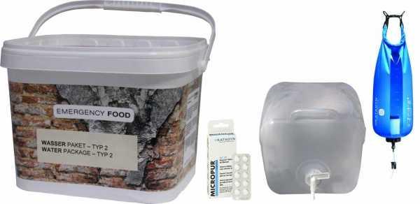 Wasser Paket-Typ 2