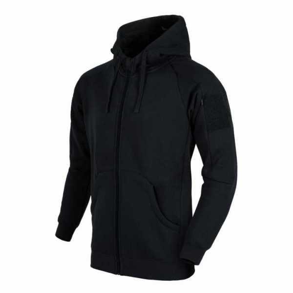 Helikon Tex Urban Tactical Hoodie Lite (FullZip)® - schwarz
