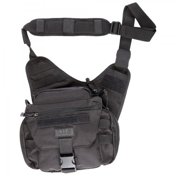 Push Pack 6L Umhängetasche, schwarz