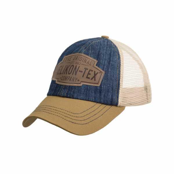 Helikon-Tex Trucker Logo Cap blau-khaki
