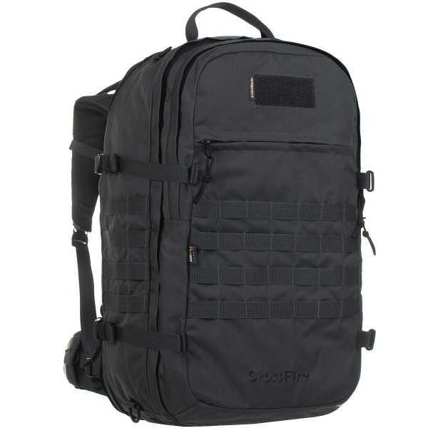 Wisport Crossfire 45-65l Rucksack schwarz