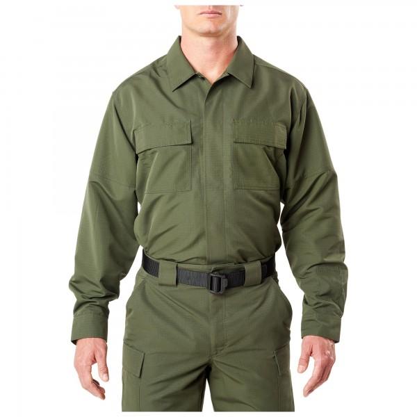 TDU Langarmshirt Fast-Tac oliv von 5.11