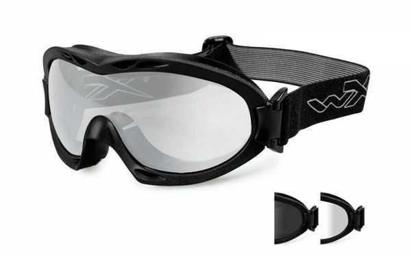 Wiley X NERVE Smoke/Clear Matte Black Frame