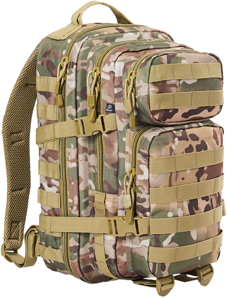 Brandit US Cooper Medium Rucksack camo tactical