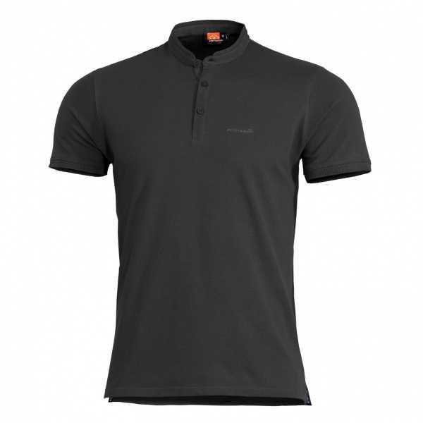 Pentagon Levantes Henley Shirt schwarz