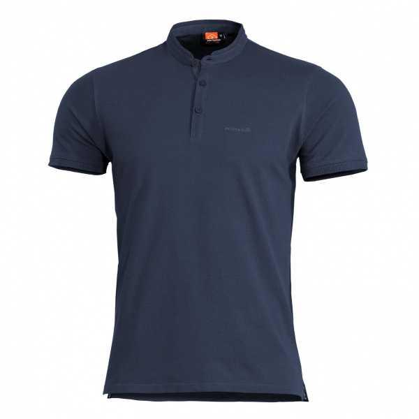 Pentagon Levantes Henley Shirt navi blau