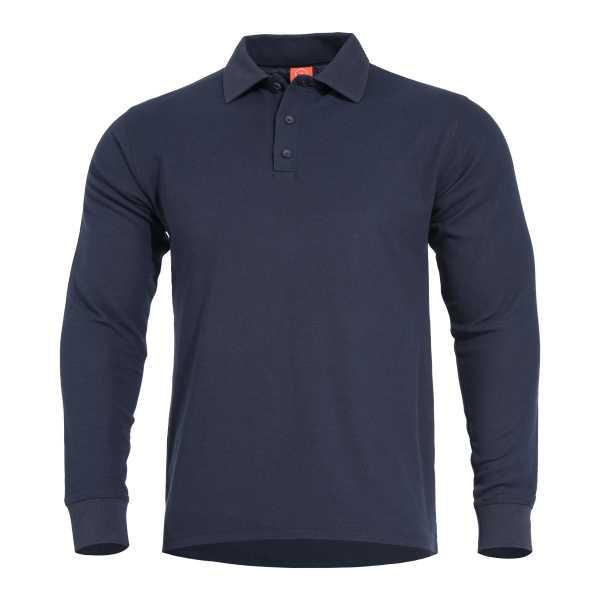 Pentagon Aniketos Long Polo Shirt navi blau
