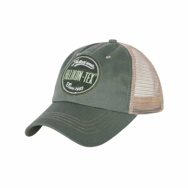 Helikon-Tex Trucker Logo Cap grün-weiß