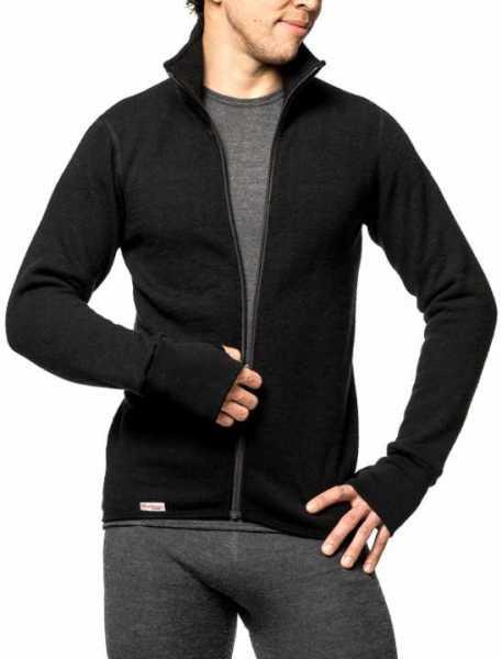 Woolpower Full Zip Jacket 400 schwarz